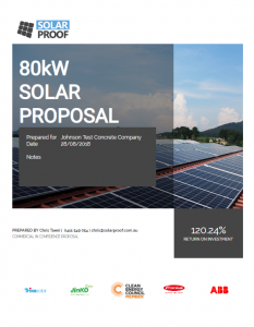 example solar proposal
